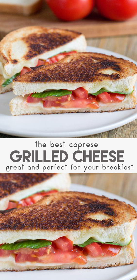 Caprese-Grilled-Cheese