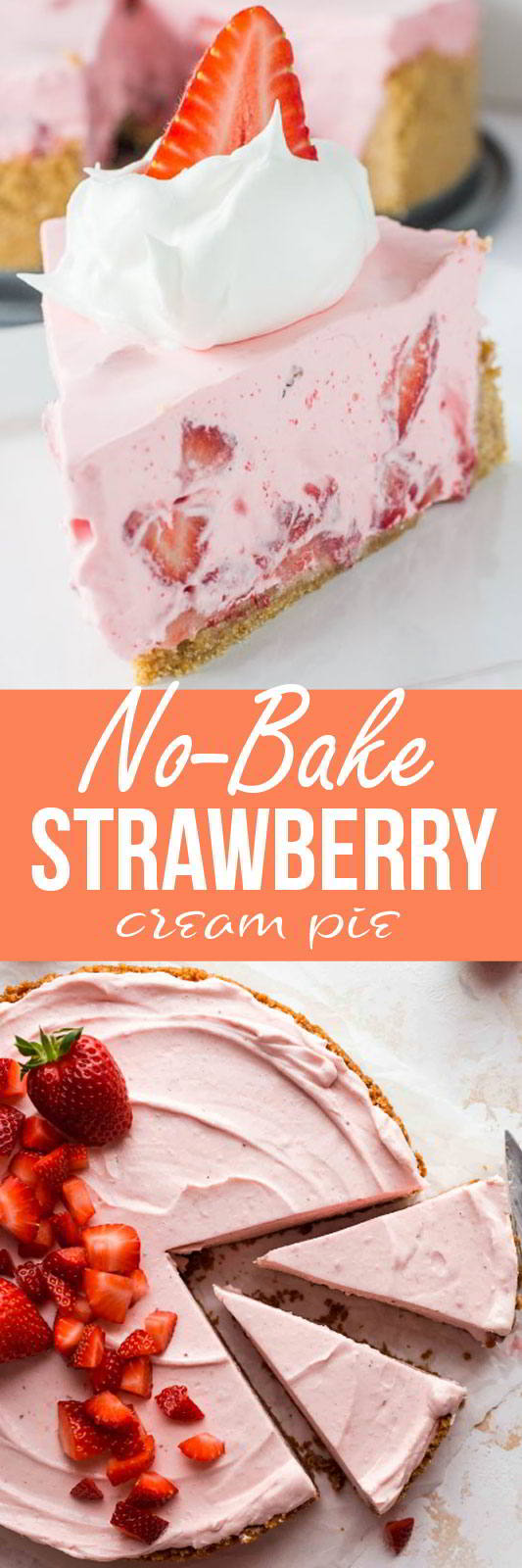 No-Bake-Strawberry-Cream-Pie