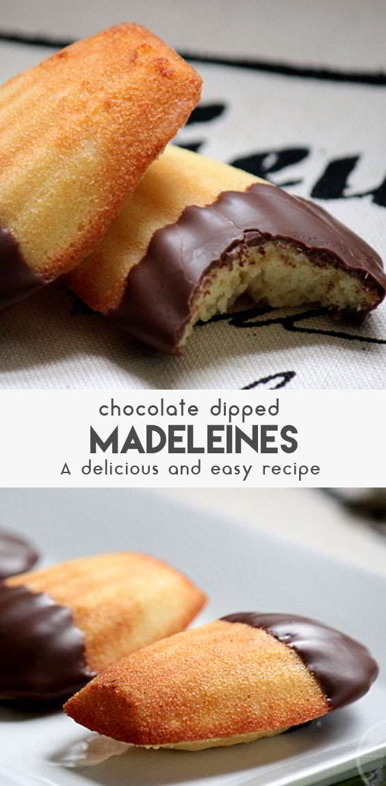 Easy-Chocolate-Dipped-Madelines