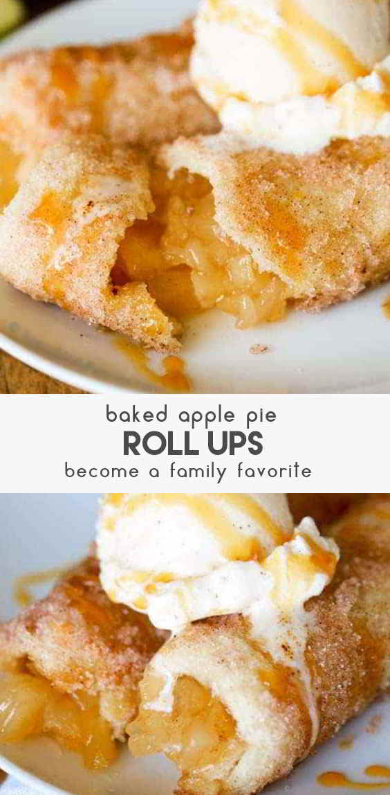 Baked-Apple-Pie-Roll-Ups