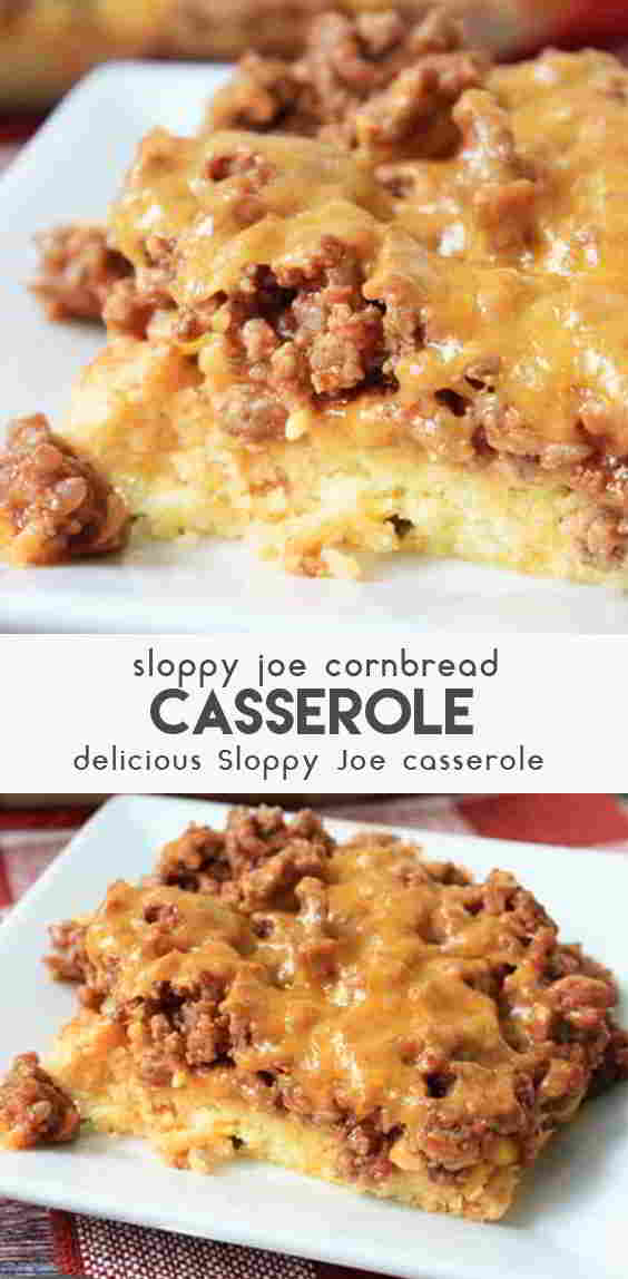 Sloppy-Joe-Cornbread-Casserole