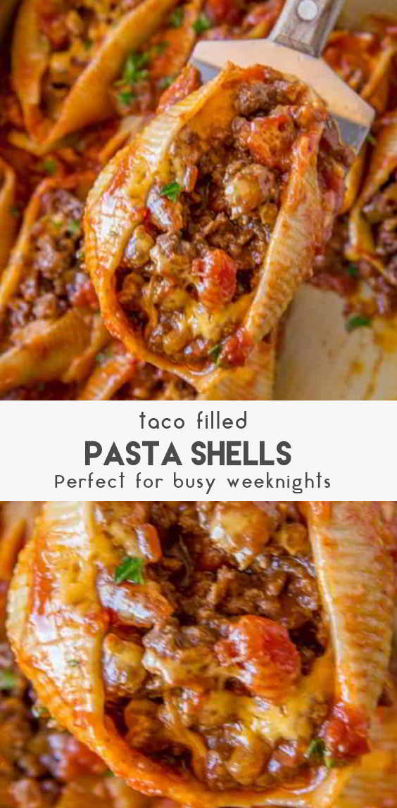 Taco-Filled-Pasta-Shells-Recipe