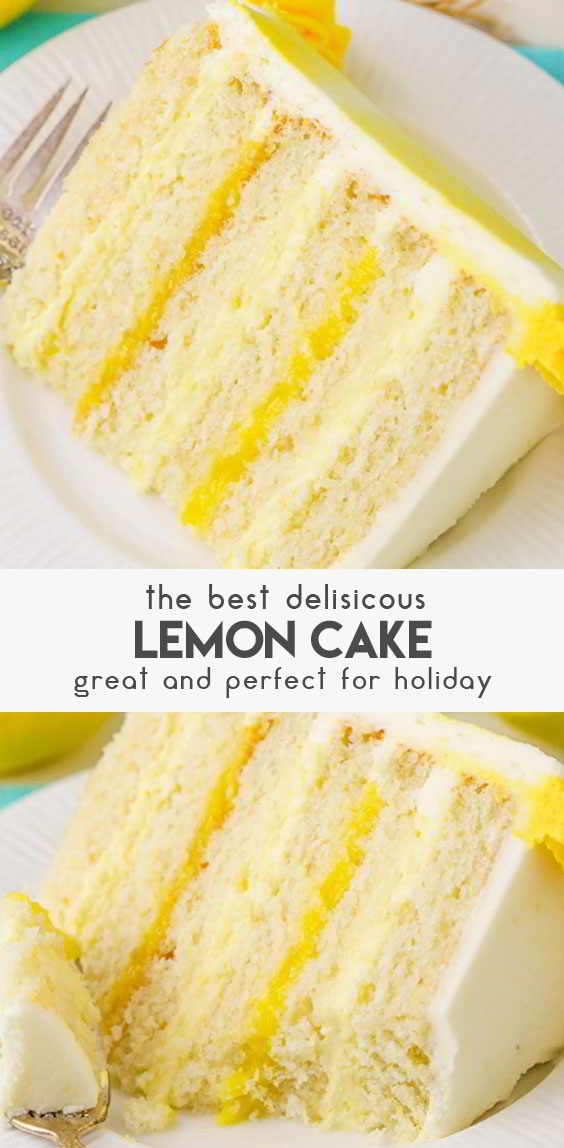 Lemon-Cake-With-Lemon-Bavarian-Cream