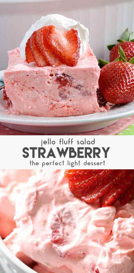 Strawberry-Jello-Fluff-Salad